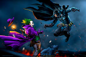 Batman Vs Joker Hd Wallpaper Background Image 3600x2405