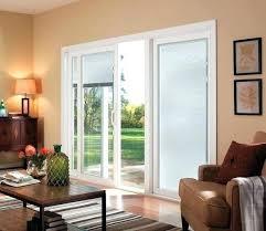 sliding patio doors with blinds between the glass sliding glass doors series sliding patio door vinyl