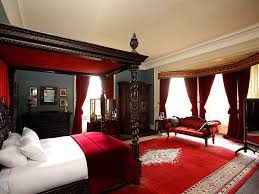 Red Black And White Bedroom Black And Red Victorian Bedroom Luxhotelsinfo