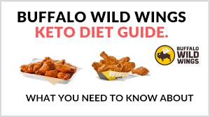 buffalo wild wings keto guide what