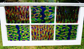 sharpie art how to make a stained glass window