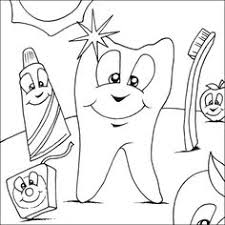 Dental health coloring pages kids coloring home 54 Dental Coloring Pages For Kids Ideas Dental Coloring Pages Dental Health
