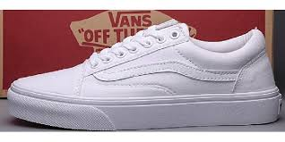 vans all white. vans shoes all white authentic womens/mens classic canvas sneakers h