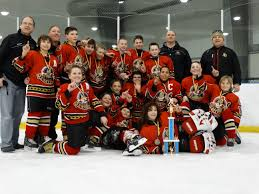trophy case the binghamton jr senators peewee a team won the skaneateles power play tour nt on 26 beating rochester jr amerks 2001 team 5 2 in the