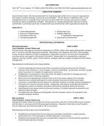 Human Resource Sample Resume Related Free Resume Examples Human