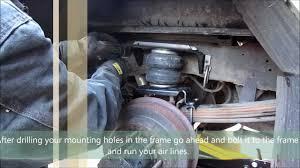 truck suspension airbag installation firestone ride rite