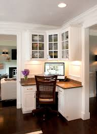 corner computer desks home office traditional with my houzz amish built home office