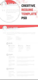 creative resume templates designinstance resume creative resume template psd bie no 67css author tjnjj3vc