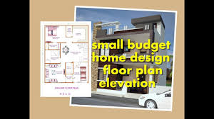 small budget home design 1200 sq ft 30 40 floor plan elevation indian small home sep 2017