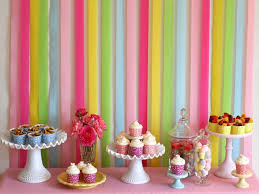 birthday streamer decoration ideas