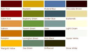 rustoleum paint color chartOld Fashioned Milk Paint Color Chart