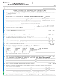 Application Fireworks Texas Perm… Forms-ap-201 Sales Tax For
