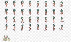 Pixel Character Template Pixel Art