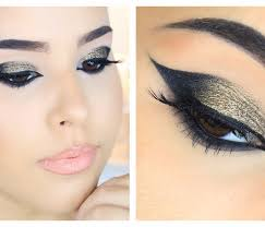 dramatic cut eye makeup