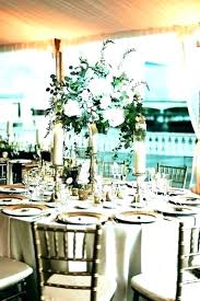 Round Table Settings For Weddings Round Table Centerpieces