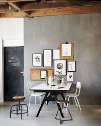 Industrial Living Room Industrial Living Room Dining Room With Picture Frames Wooden