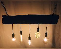 Lampe Bahnschwelle Deckenlampe Holz Antik Balken Unikat Neu Massivholz Led