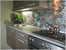 diy mosaic back splash for your kitchen beesdiycom