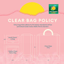 Indian Wells Tennis Center Seating Chart Clear Bag Policy Bnp Paribas Open