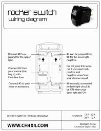 clean 4 terminal rocker switch wiring diagram lighted mesmerizing 3 decora 3-way switch wiring diagram at 3 Way Rocker Switch Wiring Diagram