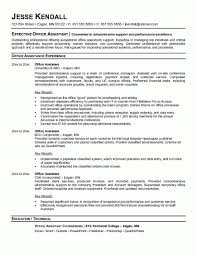 ... Office Assistant Resume No Experience By Jesse Kendall ...