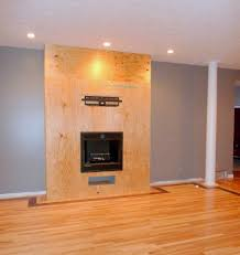how to build a gas fireplace surround