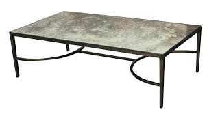 Modern Mirrored Coffee Table Glass Top Mirror Bottom Furniture Inspire Q  Hayes Metal Accent Blue
