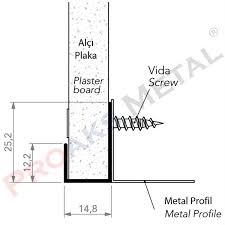 corner end profile
