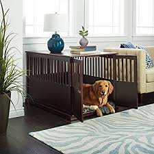 furniture pet crate. Wooden Furniture Extra Large Pet Crate Espresso Solid Wood End Table E
