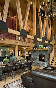 Log Cabin Living Room Concept New Ideas
