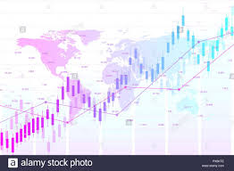 Stock Investment Chart Stock Market Or Forex Trading Graph Chart Suitable For