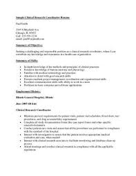 clinical research coordinator resume sample sample crc resume by pharma student issuu