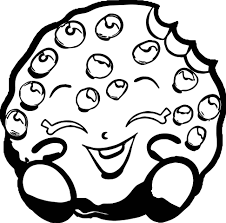 Small Picture Shopkins Cookie Coloring Page Wecoloringpage