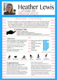writing a cv applying for a job xheatherbell my creative cv