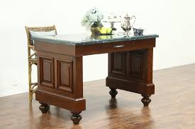 Sold Cherry Vintage Bank Counter Kitchen Island Or Wine Tasting