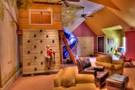 kids tree house inside. Inspiration For A Large Eclectic Gender-neutral Carpeted And Beige Floor Playroom Remodel In Other Kids Tree House Inside O