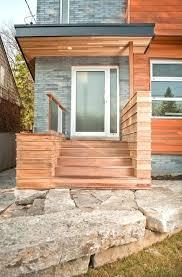 mid century modern front porch. Modern Front Porch Entrance Decor Mid Century