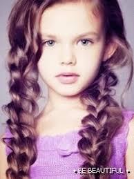 Dětské účesy Pro Malé Princezny Krása Nevyžaduje Obětování