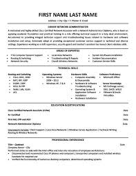 Junior Network Administrator Resume Template | Premium Resume ...