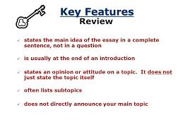 the thesis statement a road map for your essay what is a thesis  don t state the obvious another example this essay will discuss some ways teachers can
