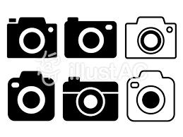カメラアイコンのイラストセットイラスト No 663193無料イラスト