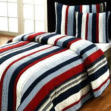 red and white striped sheet interior alluring blue and white striped quilt bedding cotton duvet cover