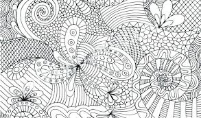 Abstract Printable Coloring Pages Adult Mandala Free Flower For