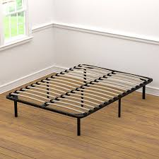 Bedroom Low Profile Bed Frame Low Profile Wooden Bed Frame Low ...