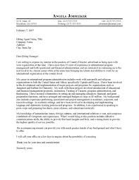 Best cover letter for nonprofit organization Cover Letter For Non Profit