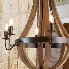 dark wood chandelier wooden wine barrel stave chandelier photos
