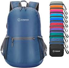 ZOMAKE <b>Ultra Lightweight Packable Backpack</b> Water Resistant ...