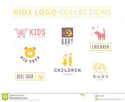 Rabbit Designer Label Kids Fashion Label Design Stock Vector Illustration Of