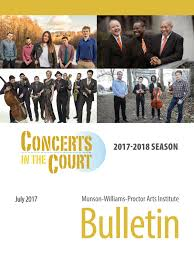 MWPAI Bulletin July 2017 by Munson-Williams-Proctor Arts Institute - issuu
