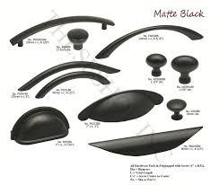 matte black kitchen cabinet pulls kitchen
